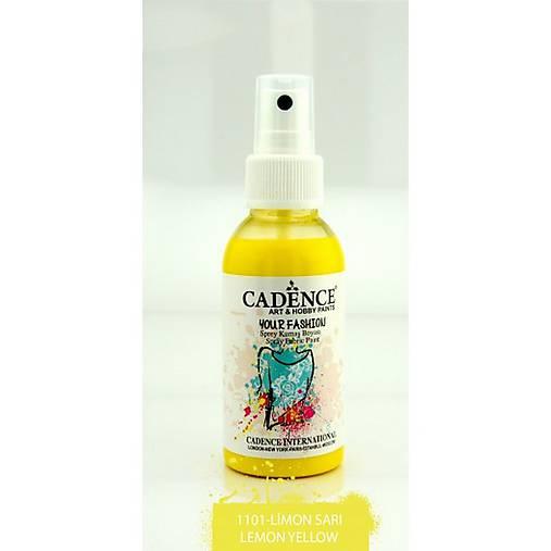 cbdad1c1c Farba na textil v spreji, 1101 citrónová žltá, 100 ml / Emmart ...