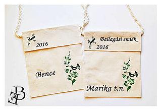 Iné tašky - Batohy na rozlúčku - 8256479_