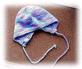 Detské čiapky - Detská čiapka - Strakatá - 8259479_