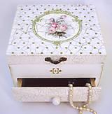 Krabičky - Šperkovnica- Rose 2 - 8258195_
