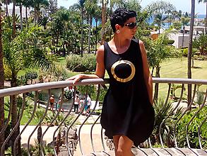 Šaty - FNDLK úpletové šaty 184 SK bambus - 8257908_