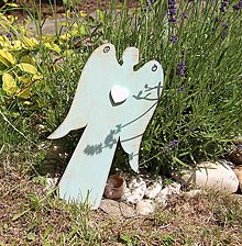 Dekorácie - Anjel z dreva - 8259417_