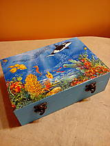 Detské doplnky - Krabička Morský svet - 8256542_