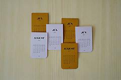 - 2017 - Magnetický kalendár NA CELÝ ROK - 8257490_