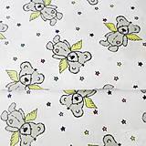 Textil - mackovia, 100 % bavlna, šírka 140 cm, cena za 0,5 m - 8259963_