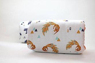 Textil - Kojenecký vankúš Fox - 8256620_