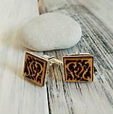 """Šperky - Manžetové gombíky """"Láska"""" (strieborné) - 8259134_"""