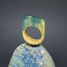 Prstene - Drevený prsteň: Medzi koreňmi - 8257521_