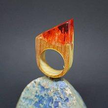 Prstene - Drevený prsteň: Na štítoch hôr - 8257551_