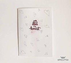 Papiernictvo - with all my heart - 8257614_
