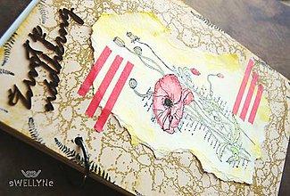 Papiernictvo - život je nádherný /maky/ - 8258409_