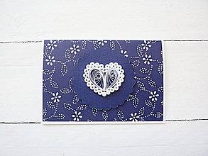 Papiernictvo - svadobná pohľadnica - 8256430_