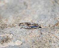 Prstene - Prstienok s briliantmi - 8262091_