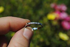 Prstene - Prstienok s briliantmi - 8262093_