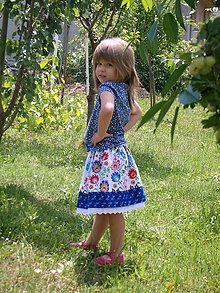 Detské oblečenie - Suknica na ľudovú nôtu - 8261181_