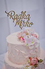 - Zápich na svadobnú tortu - 8261899_