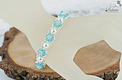 Sady šperkov - Facile Light Turquoise - Set s náramkom - 8261529_