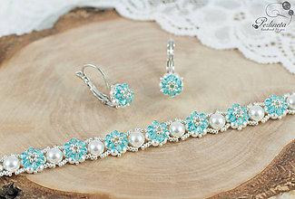Sady šperkov - Facile Light Turquoise - Set s náramkom - 8261527_