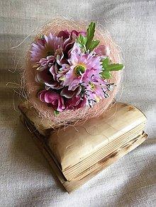 Dekorácie - kytička pre pani učiteľku - 8261567_