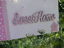 Tabuľka Sweet home