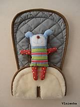 MERINO podložka do kočíka BUGABOO Bee / Buffalo/ Cameleon/ Donkey s ozdobným prešitím ELEGANT grey 100% wool