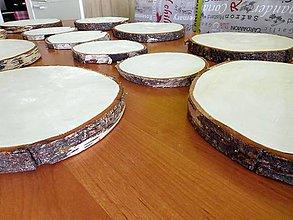 Pomôcky - vintage svadba/podložky z drevených plátov 7 - 8260040_
