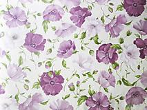 Textil - ružové maky, 100 % bavlna, šírka 155 cm, cena za 0,5 m - 8260666_