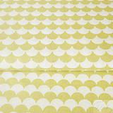 svetlookrové vlnky; 100 % bavlna Francúzsko, šírka 160 cm, cena za 0,1 m
