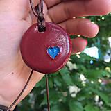Náhrdelníky - Betónový náhrdelník OneLove 01 - 8260866_