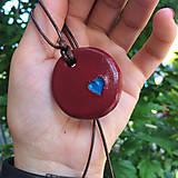 Náhrdelníky - Betónový náhrdelník OneLove 01 - 8260868_