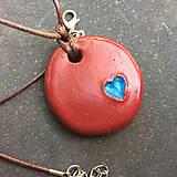 Náhrdelníky - Betónový náhrdelník OneLove 01 - 8260870_