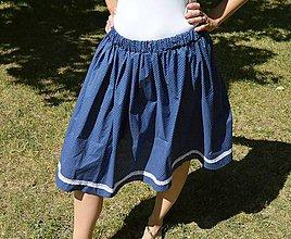Sukne - suknička elegantná folklorna - 8260081_