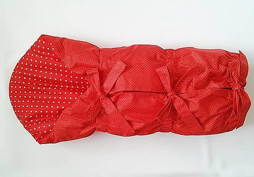 1629784ec Červená zavinovačka / nikalux.orava - SAShE.sk - Handmade Textil