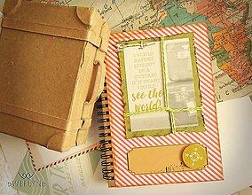 Papiernictvo - Život v kufri/zápisník - 8260308_