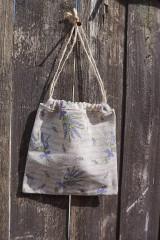 Úžitkový textil - vrecúško na levandulu 1 - 8261099_
