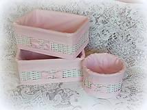 Košík (Odkladáčik ružový - guľatý)