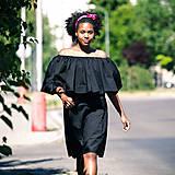 Šaty - Origo šaty minimalizmus volan - 8262413_