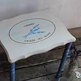 Nábytok - Provensálsky stolček - 8262500_