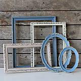 Rámiky - Sada starožitných vintage rámov VII. - 8262853_
