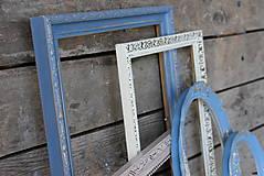 Rámiky - Sada starožitných vintage rámov VII. - 8262855_
