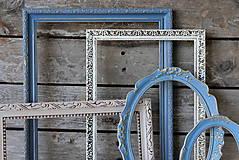 Rámiky - Sada starožitných vintage rámov VII. - 8262856_