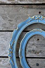 Rámiky - Sada starožitných vintage rámov VII. - 8262861_