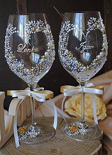 Nádoby - Svadobné poháre - 8265230_
