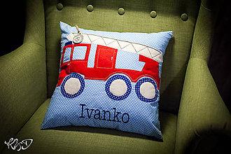 """Úžitkový textil - Vankúšik """" Ivanko"""" - 8266038_"""