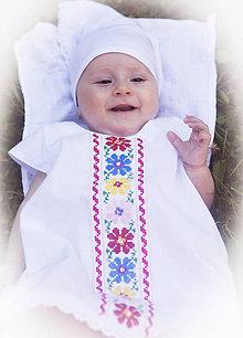 Detské oblečenie - Folk šatočky pre bábätko - šaty - 8264403_