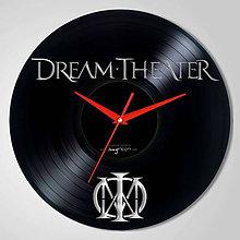 Hodiny - Dream Theater - vinylové hodiny (vinyl clocks) - 8263953_