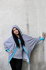 Mikiny - Cardigan/mikina HAHN grau - 8264941_