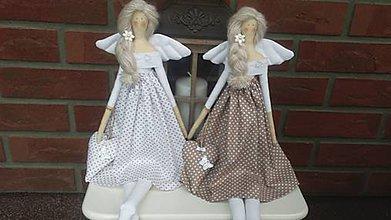 Bábiky - Anjelky pre pani učiteľky. - 8263699_