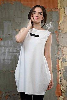 Šaty - FNDLK úpletové šaty 190 BL - 8265625_