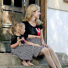 Šaty - Líška setík pre mamu a dcéru - 8263100_